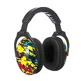 PROTEAR mit SNR 28dB Gehörschutz für Kinder, faltbaren Lärmschutz Kopfhörern mit tragbarer Tasche, für Schule, Feuerwerk, Flugshows von 1 bis 18 Jahren(Bunt)
