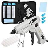 Magicfly Heißklebepistole 60W/100W, Klebepistole mit 15 Stück Klebesticks für DIY Kleine Handwerk und schnelle Reparaturen in Haus & Büro, weiß