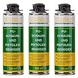3x Stabilo Pistolenreiniger, Schaumreiniger, PU Reiniger, Reinigungsmittel, Entfetter, 500 ml pro Dose, 3 Stück