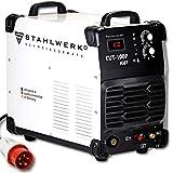 STAHLWERK CUT 100 P IGBT Plasmaschneider mit 100 Ampere, Pilot-Zündung, bis 44 mm Schneidleistung, für Flugrost geeignet, weiß, 7 Jahre Garantie