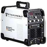 STAHLWERK AC/DC WIG 200 Plasma ST IGBT - Kombi 200 Amp WIG MMA Schweißgerät mit 50 Amp CUT Plasmaschneider, ALU geeignet, weiß, 7 Jahre Garantie