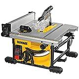 DeWALT DWE7485-QS Tischkreissaege 210 mm, 1850 W, Schwarz/Gelb, DWE7485-QS-Sierra de Mesa 1.850W-Ø210mm-Mesa 610x305mm-Portátil