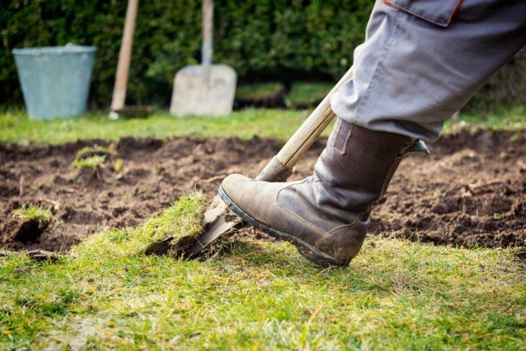 Der richtige Spaten für die Gartenarbeit