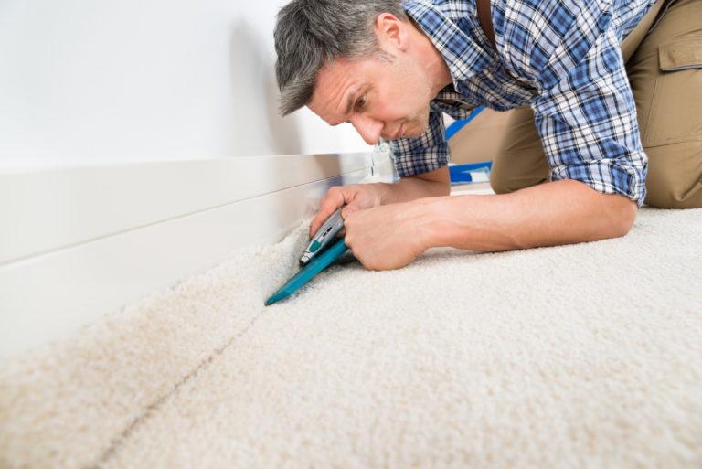 Teppichboden und Teppiche - Werkzeug zum verlegen